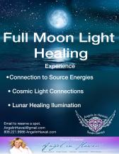 Full Moon Light Healing
