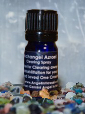 Archangel Azrael Medicine Healing Essential Oil